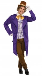 Willy Wonka & The Chocolate Factory: Willy Wonka Deluxe Adult Costume_thumb.jpg