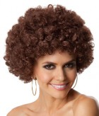 Party Afro Brown Unisex Adult Wig_thumb.jpg