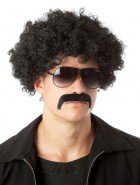 70's Afro & Moustache Black Borat Adult Set_thumb.jpg