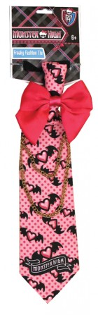 Monster High Freaky Fashion Child Tie Pink_thumb.jpg