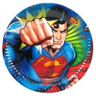 Superman Paper Plates Pack of 8_thumb.jpg