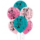 Minnie Mouse Fun to Be One 1st Birthday Latex Balloons Pack of 15_thumb.jpg