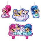 Shimmer and Shine Happy Birthday Mini Moulded Candle Pack of 4_thumb.jpg