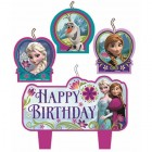 Frozen Happy Birthday Mini Moulded Candles Pack of 4_thumb.jpg