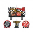Cars 2 Formula Racer Happy Birthday Mini Moulded Candle Pack of 4_thumb.jpg