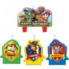 Paw Patrol Happy Birthday Mini Moulded Candle Pack of 4_thumb.jpg
