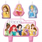 Disney Princesses Happy Birthday Mini Moulded Candle Pack of 4_thumb.jpg