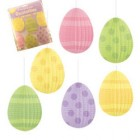 Easter Eggs Pleated Hanging Decorations Pack of 6_thumb.jpg