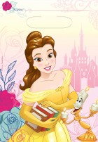 Beauty and the Beast Plastic Loot Bags Pack of 8_thumb.jpg
