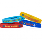Mickey Mouse Rubber Bracelet Favors Pack of 4_thumb.jpg