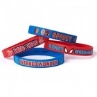 Spider-Man Rubber Bracelet Favors Pack of 4_thumb.jpg