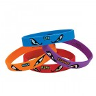 Teenage Mutant Ninja Turtles Rubber Bracelet Favors Pack of 4_thumb.jpg