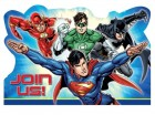 Justice League Invitations & Envelopes Pack of 8_thumb.jpg