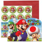 Super Mario Bros. It's-A Party Invitations Pack of 8_thumb.jpg