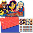 DC Superhero Girls You're Invited Invitations Pack of 8_thumb.jpg