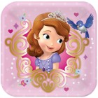 Sofia the First Square Paper Luncheon Plates 18cm Pack of 8_thumb.jpg