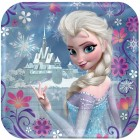 Frozen Elsa Square Paper Lunch Plates 18cm Pack of 8_thumb.jpg