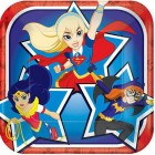 DC Superhero Girls Square Paper Luncheon Plates Pack of 8_thumb.jpg