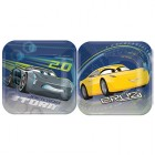 Cars 3 Square Luncheon Plates 18cm Pack of 8_thumb.jpg