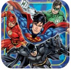 Justice League Square Paper Dinner Plates 23cm Pack of 8_thumb.jpg