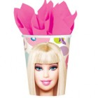 Barbie Paper Cups 266ml Pack of 8_thumb.jpg