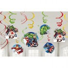 Avengers Epic Hanging Swirl Decorations Value Pack of 12_thumb.jpg