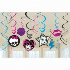 Monster High Hanging Swirls With Cutouts Value Pack of 12_thumb.jpg