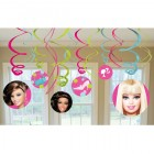 Barbie Hanging Swirl Decorations Value Pack of 12_thumb.jpg