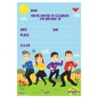 The Wiggles Invitations and Envelopes Pack of 8_thumb.jpg