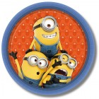 Minions Party Plates 23cm Pack Of 8_thumb.jpg