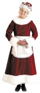 Santa Dress Mrs. Claus Long Adult Women's Christmas Costume_thumb.jpg
