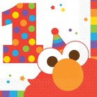 Elmo 1st Birthday Beverage Napkins Pack of 16_thumb.jpg