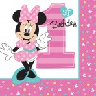 Minnie Mouse 1st Birthday Lunch Napkins Pack of 16_thumb.jpg