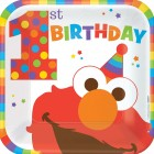 Elmo 1st Birthday Paper Plates Pack of 8_thumb.jpg