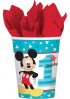 Mickey Mouse 1st Birthday Paper Cups Pack of 8_thumb.jpg