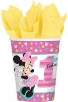 Minnie Mouse 1st Birthday Paper Cups Pack of 8_thumb.jpg