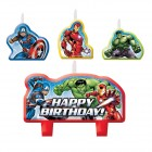 Avengers Epic Happy Birthday Mini Moulded Candle Set of 4_thumb.jpg