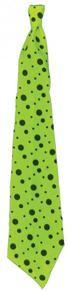 Neon Lime Green Long Tie Goth Slim Punk Adult's Costume Accessory_thumb.jpg