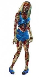 Jointed Zombie Girl Prop Cardboard Cutout_thumb.jpg