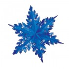 Winter Snowflake Blue Metallic Foil 3D Decoration 61cm_thumb.jpg