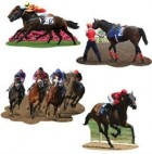 Horse Racing Melbourne Cup Double Sided Cutouts Pack of 4_thumb.jpg