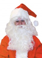 Santa Claus Deluxe Wig and Beard Set Christmas Men's Costume Accessory_thumb.jpg