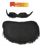 Mustache Goatee Amigo Men's Facial Hair Costume Accessory Various Colours_thumb.jpg