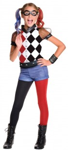 DC Superhero Girls: Harley Quinn Deluxe Child Costume_thumb.jpg