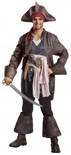 Pirates of the Caribbean Dead Men Tell No Tales Captain Jack Sparrow Deluxe Adult Costume_thumb.jpg
