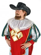 Cavalier Musketeer Adult Renaissance Costume Hat Black_thumb.jpg