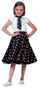 Sock Hop Skirt Child Black White_thumb.jpg