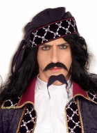 Adult Pirate Mustache and Beard with Gold Beads Men's Facial Hair_thumb.jpg