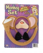 Monkey Ears Tail Bowtie & Nose With Sound Costume Accessory Set_thumb.jpg