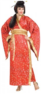 Madame Butterfly Kimono Adult Plus Costume_thumb.jpg